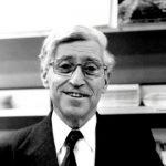 Bertrand Schwartz dans les années 1980, photo non datée.