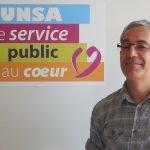 Luc Farré, secrétaire général de l'Unsa Fonction publique.