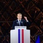 Le président élu, ici le 7 mai au Louvre.