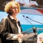 Muriel Pénicaud,ministre du Travail, le 30 janvier 2019 lors de l'ouverture de la 16e Université d'hiver de la formation professionnelle.