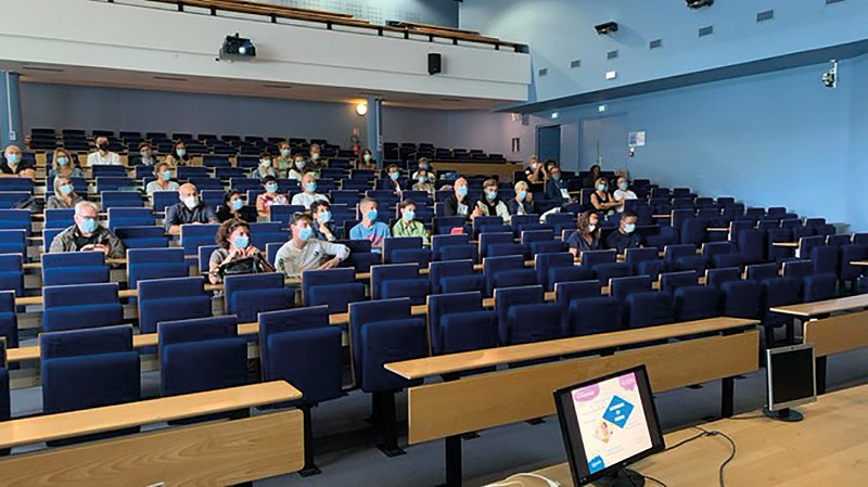 Un amphi de Digital School Excelia