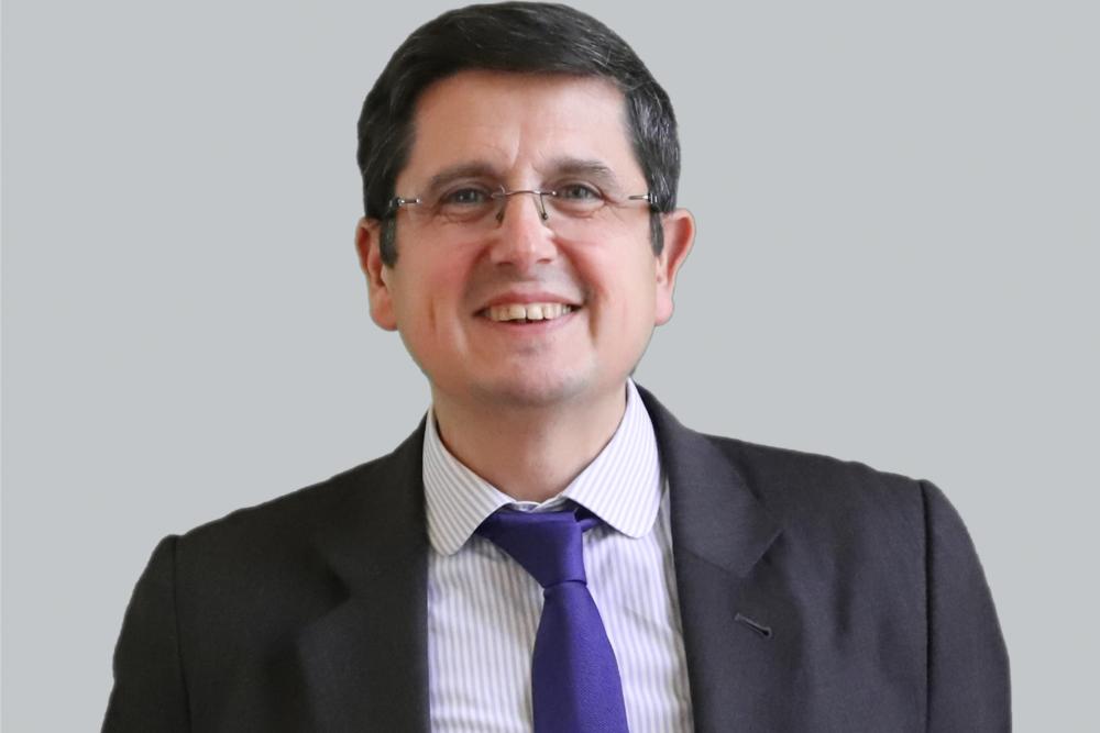 Portrait de Joël Ruiz, président du Fffod et directeur général délégué d'Opco EP.