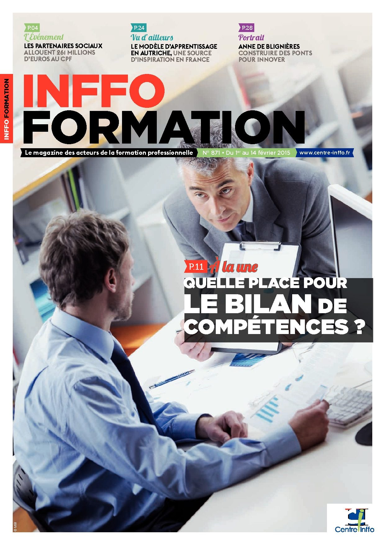 Inffo formation n° 871