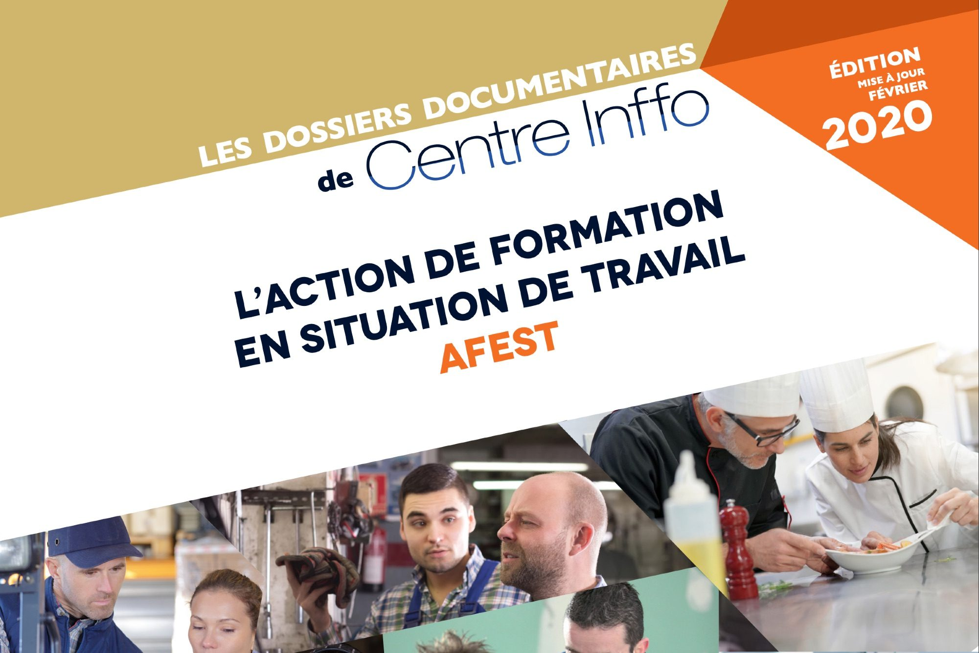 Vignette document L'action de formation en situation de travail - Afest